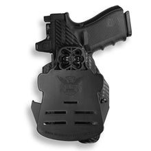 Glock 45 MOS with Streamlight TLR-1/1S/HL Light RDS Red Dot Optic Cut OWB Holster