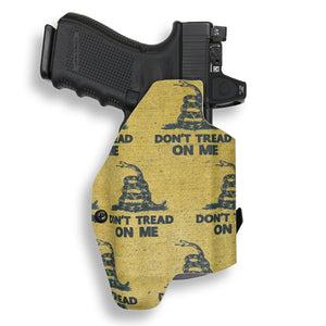 Glock 19 23 32 45 19x MOS with Streamlight TLR-1/1S/HL Light RDS Red Dot Optic Cut OWB KYDEX Concealed Carry Holster