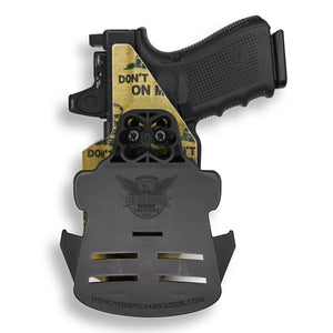 Glock 19/19X MOS RDS Red Dot Optic Cut OWB Holster