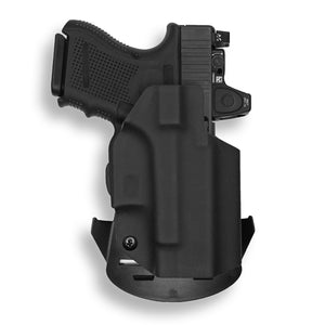 Glock 26 27 33 MOS Gen 3-4-5 RDS Red Dot Optic Cut OWB KYDEX Concealed Carry Holster