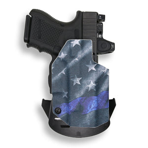 Glock 26 27 33 MOS Gen 3-4-5 RDS Red Dot Optic Cut OWB Holster