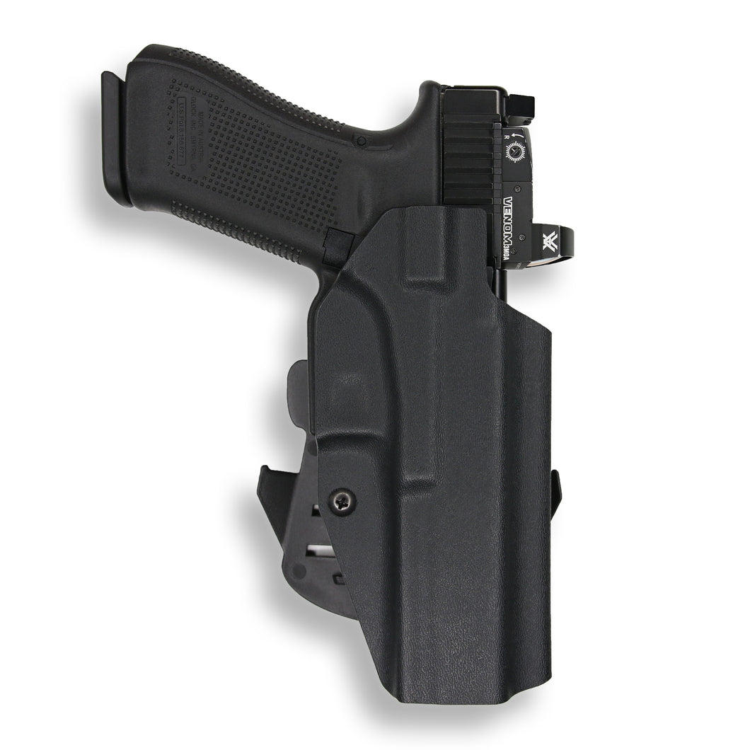 Glock 34 35 MOS RDS Red Dot Optic Cut OWB Holster