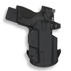 Smith & Wesson M&P 9C/40C / M2.0 with Manual Safety Pro RDS Red Dot Optic Cut OWB Holster