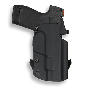 "Smith & Wesson M&P Shield / M2.0 4"" 9mm/.40 Pro RDS Red Dot Optic Cut OWB Holster"
