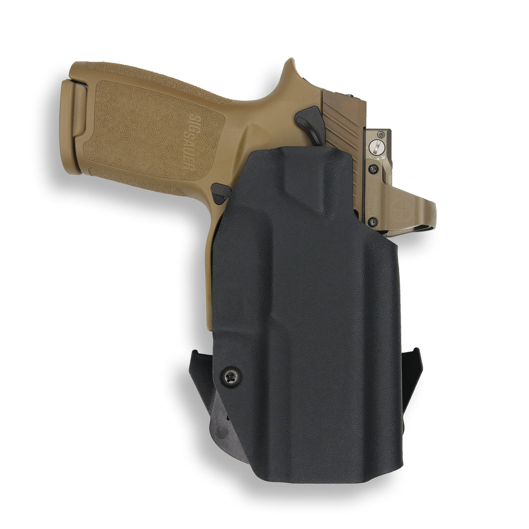Sig Sauer P320C with Manual Safety RDS OWB Holster