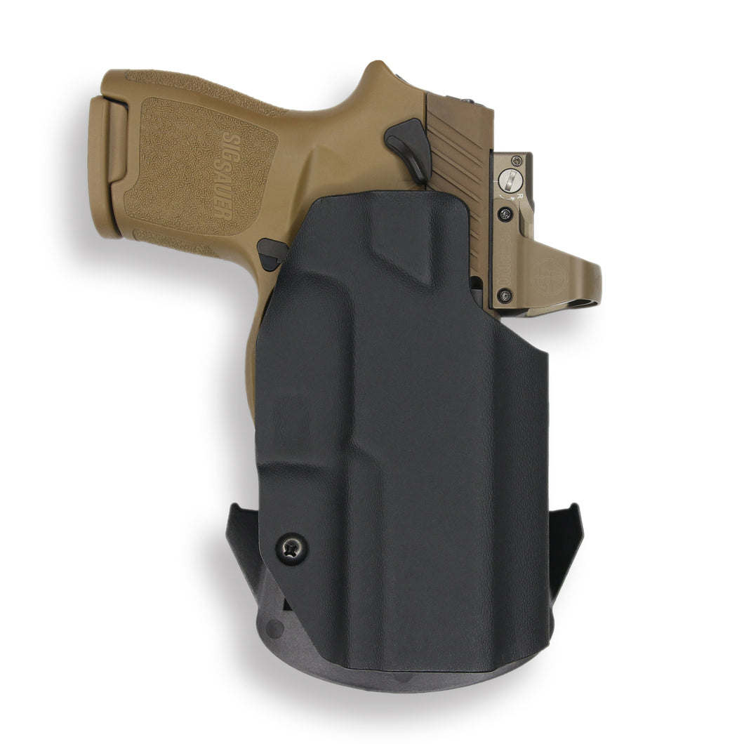 Sig Sauer P320SC with Manual Safety RDS OWB Holster