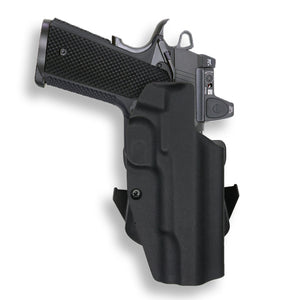 "1911 5"" Government No Rail Only RDS Red Dot Optic Cut OWB Holster"