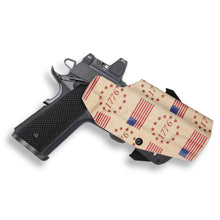"Springfield 1911 5"" No Rail Only RDS Red Dot Optic Cut OWB Holster"