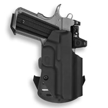 "1911 3.25"" Defender No Rail Only RDS Red Dot Optic Cut OWB Holster"