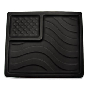 EDC American Flag Kydex Dump Tray