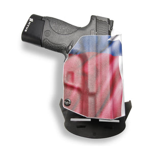 "Smith & Wesson M&P Shield / M2.0 4"" 9mm/.40 Pro RDS Red Dot Optic Cut OWB Kydex Concealed Carry Holster"