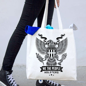 Heraldic Eagle with Shield Tote Bag