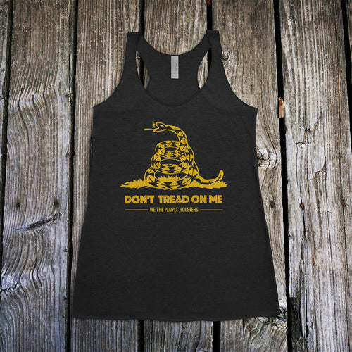 Don't Tread on Me Women's Racerback Tank Top