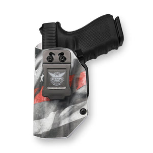 Glock 19 23 32 45 19X with Streamlight TLR-7 Light IWB KYDEX Concealed Carry Holster Gen 3-4-5