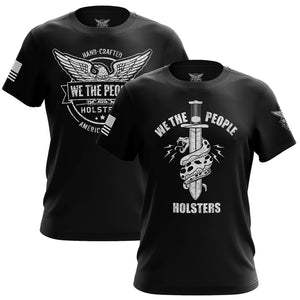 We The People & Snake Logo Short Sleeve T-Shirt Bundle