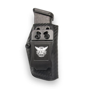 Mag Carrier Glock 17 22 31 9mm/.40/.357 Kydex Concealed Carry IWB Magazine Carrier / Holster