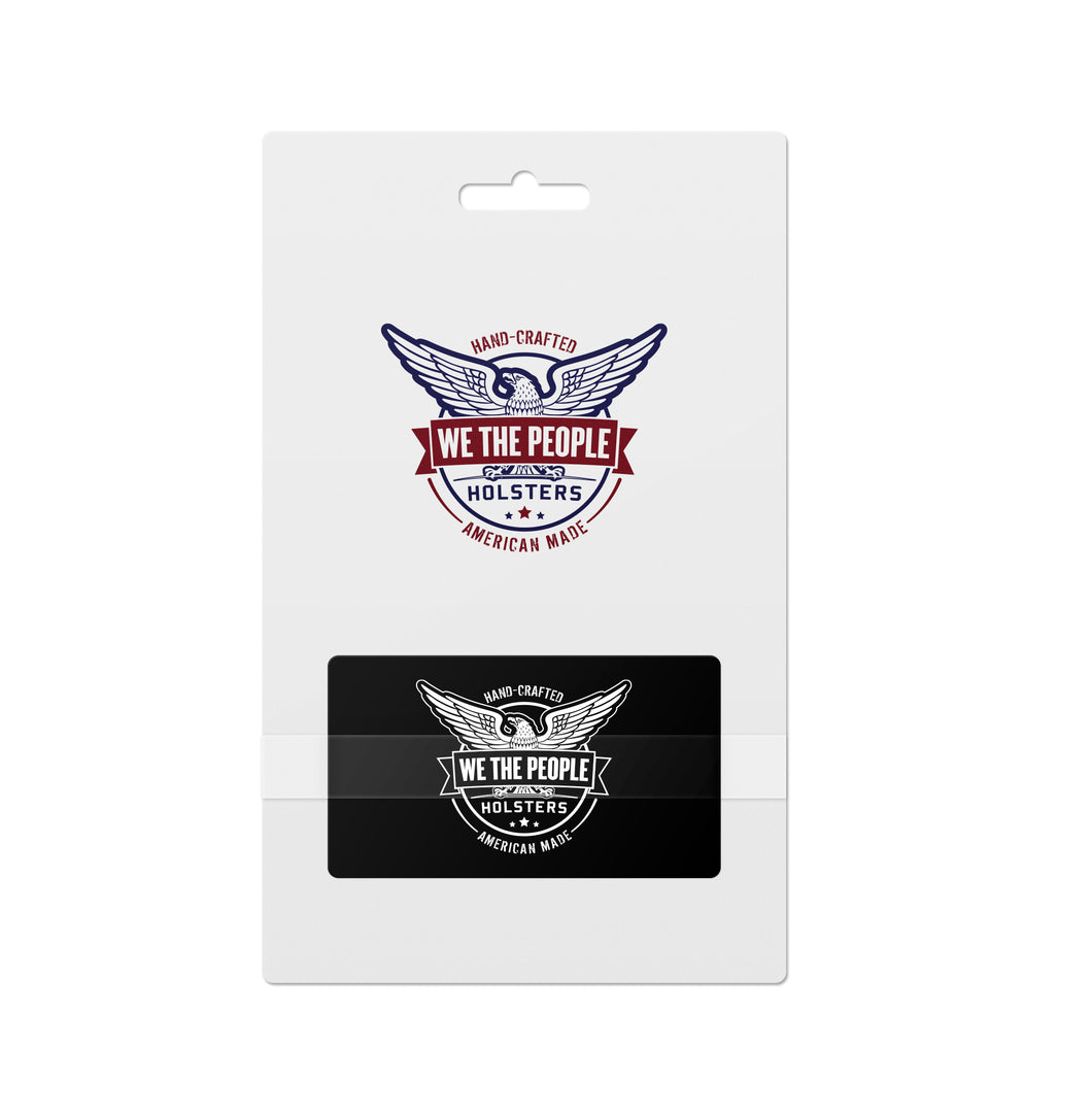 We The People Holsters  Gift Card