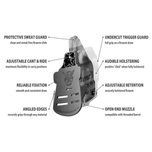 2nd Amendment Tribute Custom Printed Holster - OWB Kydex Holster