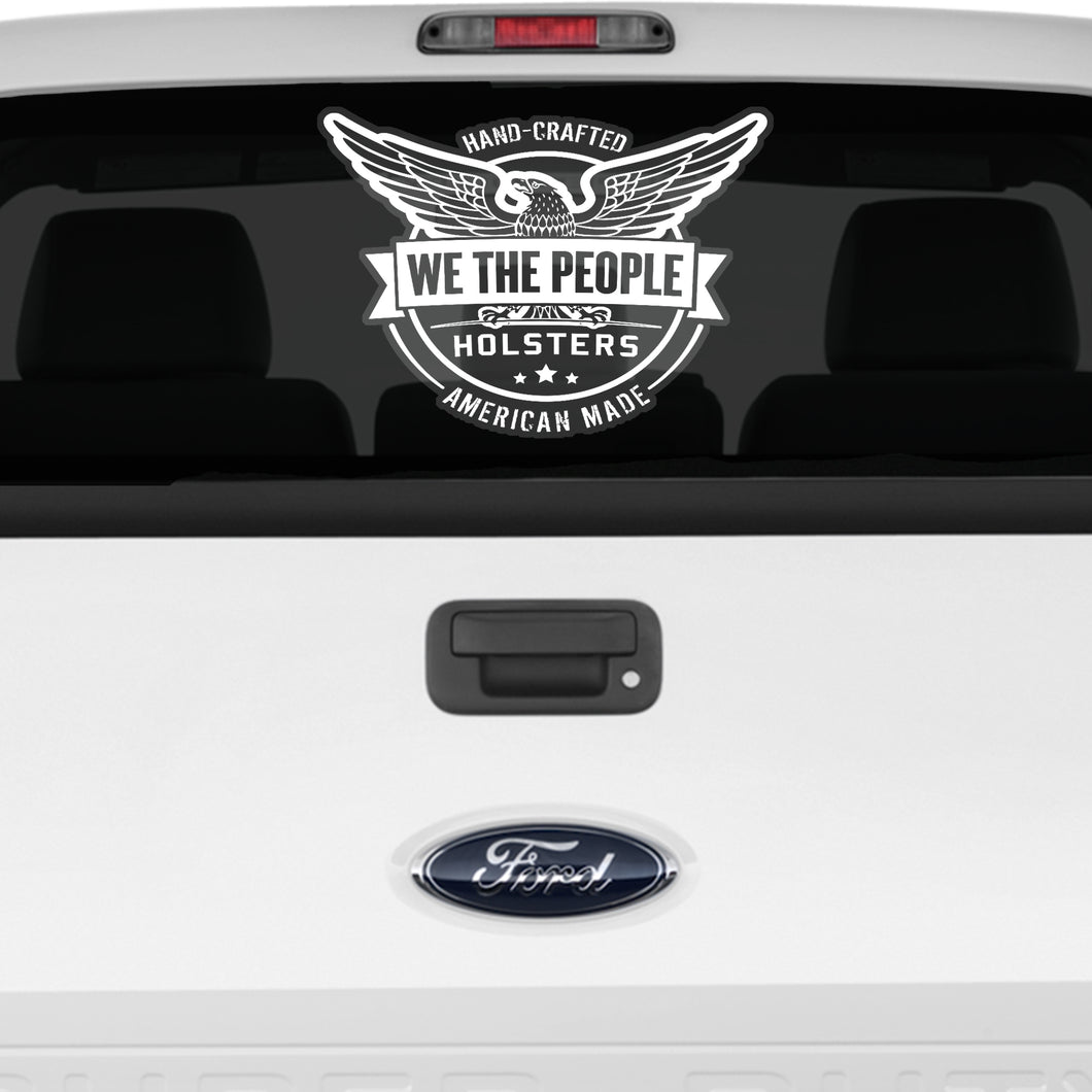 We The People LOGO Car/Truck/Boat/Plane Decal