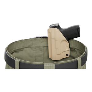 Tan Custom Printed Holster - IWB Kydex Holster