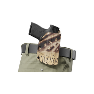 WeThePeople Constitution OWB Paddle holster Custom Designed Paddle