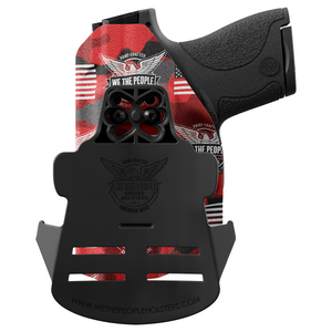 We The People Holsters Red Camo Custom Printed Holster - OWB Kydex Holster