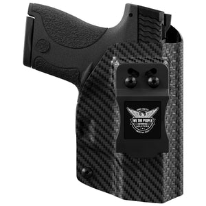 Smith & Wesson M&P 9/40 with Manual Safety Pro RDS Red Dot Optic Cut KYDEX IWB Concealed Carry Holster
