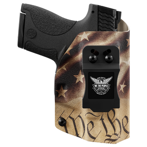 We The People Custom Printed Constitution Kydex Concealed IWB Holster