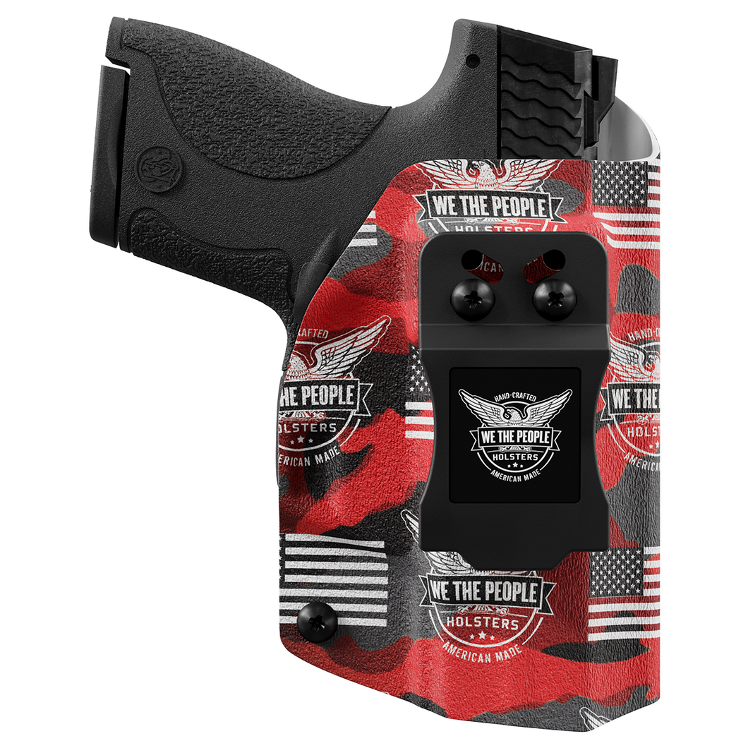 We The People Holsters Red Camo Custom Printed Holster - IWB Kydex Holster