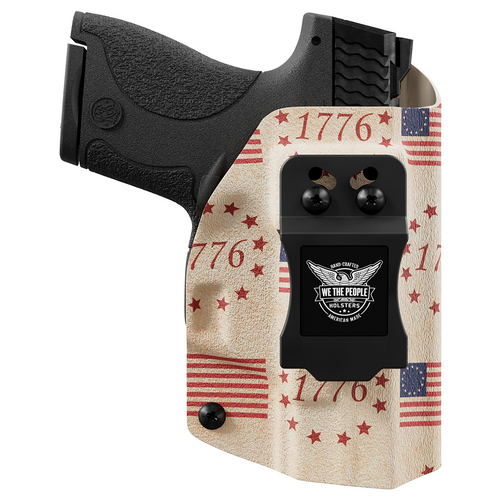 The Betsy Ross Flag Tribute to Independence Day 1776 Custom Printed Holster - IWB Kydex Holster