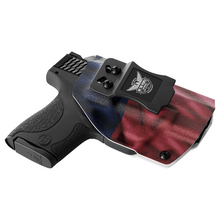 Texas State Flag Custom Kydex  IWB Holster for concealed carry