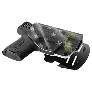 Thin Green Line Kydex OWB Paddle holster Custom Designed Paddle