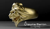 Lion Flight Ring