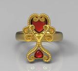 AVALON HEART RING