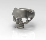 Jawless Skull Ring
