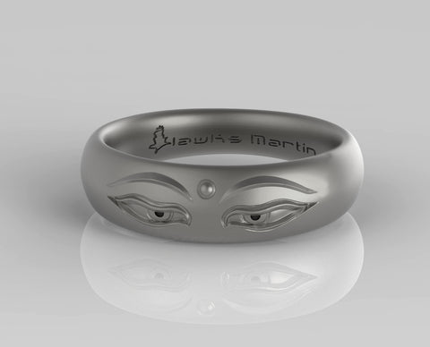 Buddha Eyes Ring