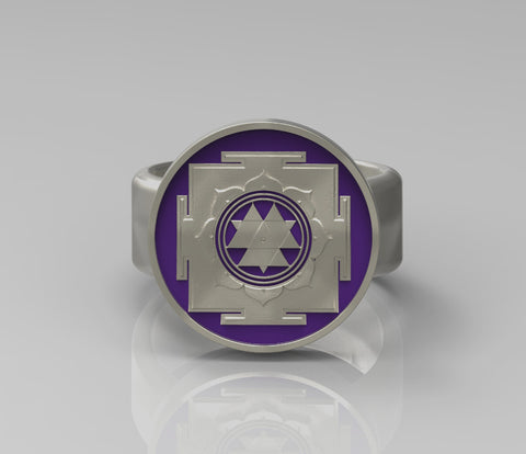 Durga Yantra Ring