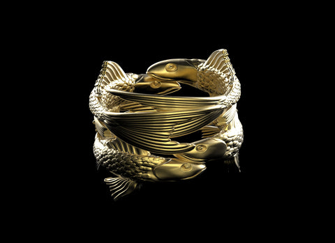 Four Fish Ring