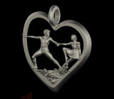 Heart Dance Pendant