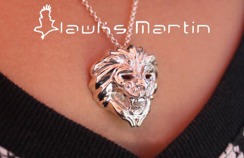 Lion Flight Pendant
