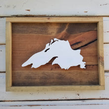 Lake Superior - Framed Raised Image