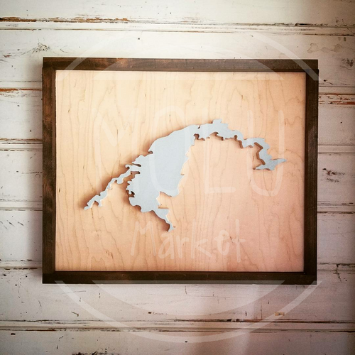 Custom Lake Cutout