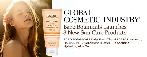 Global Cosmetic Industry Magazine: Tinted Sunscreen
