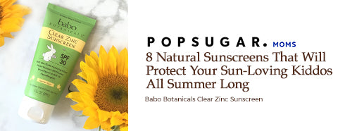 Popsugar - 8 natural sunscreens