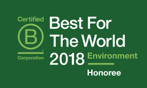 Best For The World 2018 Environment