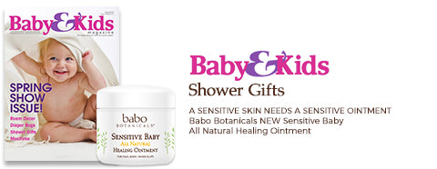 Baby and Kids Magazine - Shower Gifts