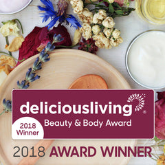 Delicious Living 2018 Award Winner