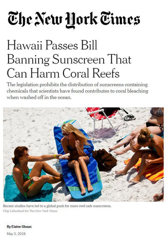 Hawaii Passes Bill Banning Sunscreen That Can Harm Coral Reefs