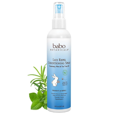 Babo Botanicals's Lice Repel & Prevent Conditioning Spray