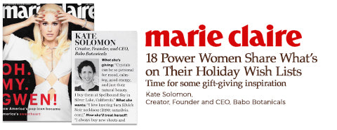 marie claire press mention